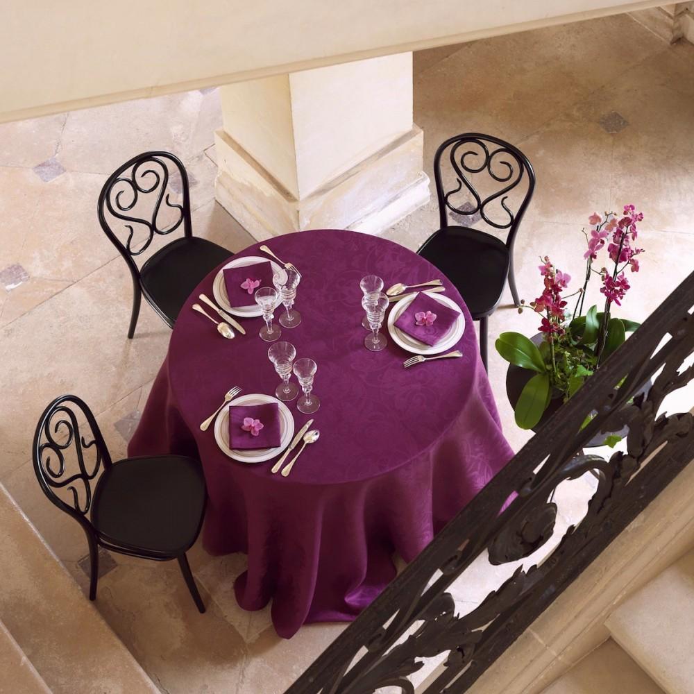 Tivoli tafelkleed 240 cm rond - Tafelkleed garnier thiebaut ...