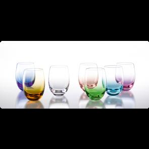 Solid color waterglas 25 cl