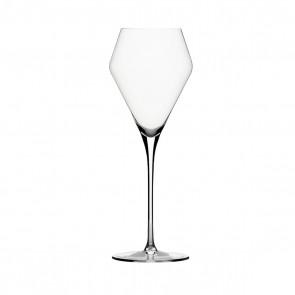 Witte zoete wijnglas