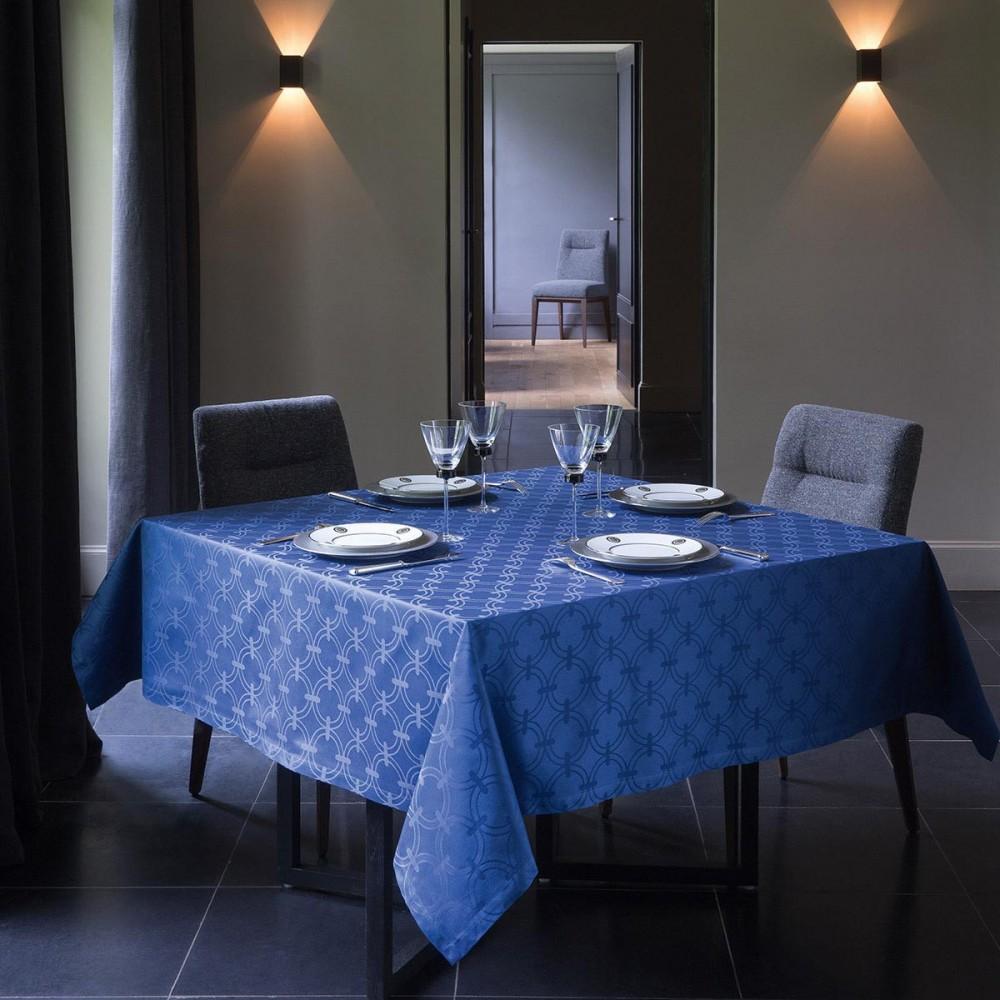 Le jacquard francais anneaux tafelkleed 170x250 - Tafelkleed garnier thiebaut ...