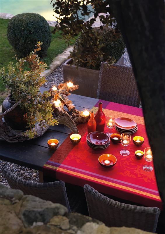 Tafelkleed 175x175 provence - Tafelkleed garnier thiebaut ...