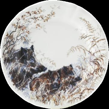 Dessert-/ontbijtbord Wild Zwijn