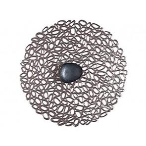 Pebble placemat gunmetal
