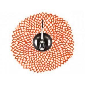 3 x dahlia placemat oranje