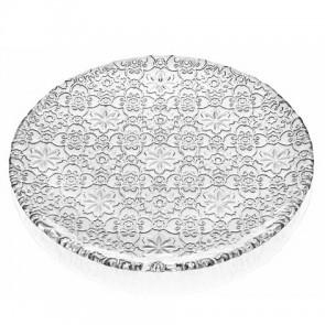 Schaal 37 cm zilver