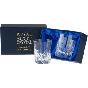 Set van 2 whiskyglazen in luxe geschenkverpakking