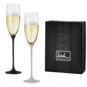 Set van 2 champagneglazen