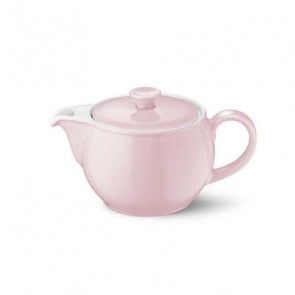 Theepot 80 cl poeder roze