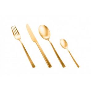 Bestekset Firenze 24-delig (mat goud)