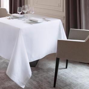 Witte tafelkleden in 6 verschillende uitvoeringen en afmetingen