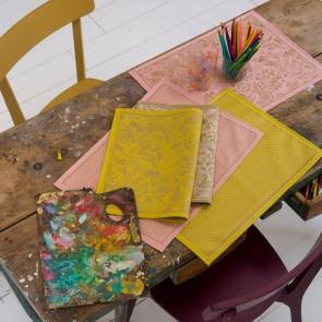 Placemats in verschillende kleuren en motieven (met coating)