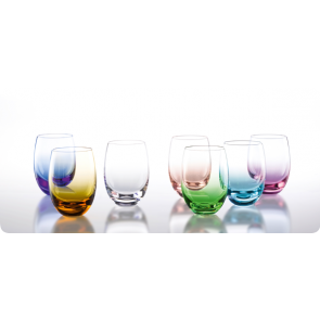 Solid color waterglas 25 cl